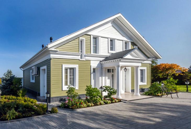 Пенопластовый декор для фасада – отличное решение для уникального облика дома